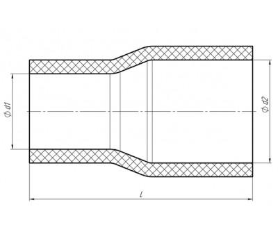 Патрубки прямые 2Д